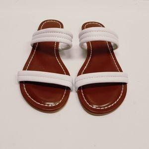 Bernardo leather sandals